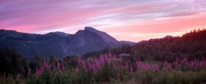 Sunset in Hemsedal, HDR-testing